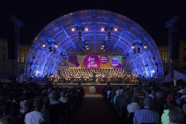 Wiener Symphoniker beim Fest der Freude 2015 © MKÖ, Sebastian Philipp