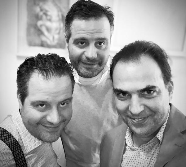 Foto der Wladigeroff Brothers in schwarz-weiß