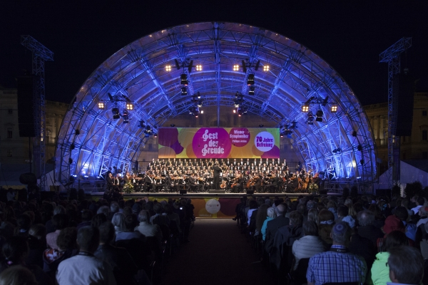 Wiener Symphoniker at the Festival of Joy 2015 © MKÖ, Sebastian Philipp