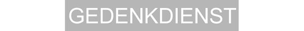 Logo Gedenkdienst