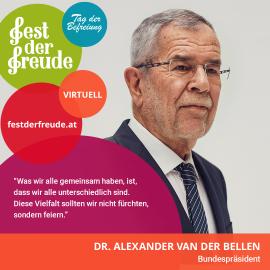 Dr. Alexander Van der Bellen, Bundespräsident