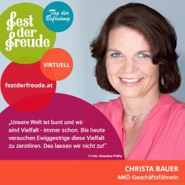 Christa Bauer, Geschäftsführerin Mauthausen Komitee Österreich