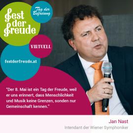 Jan Nast, Indentant der Wiener Symphoniker