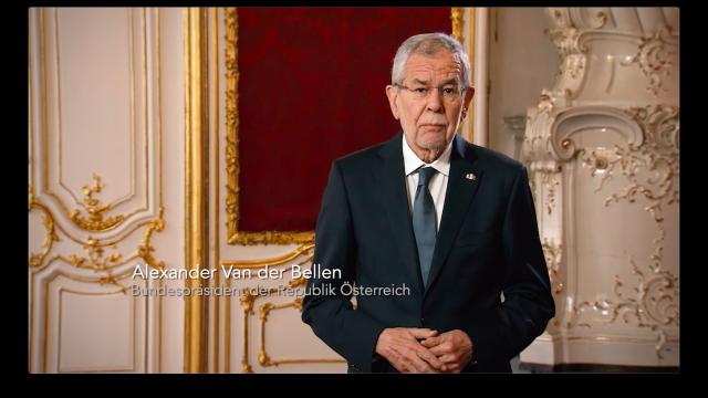 Alexander van der Bellen, Bundespräsident der Republik Österreich