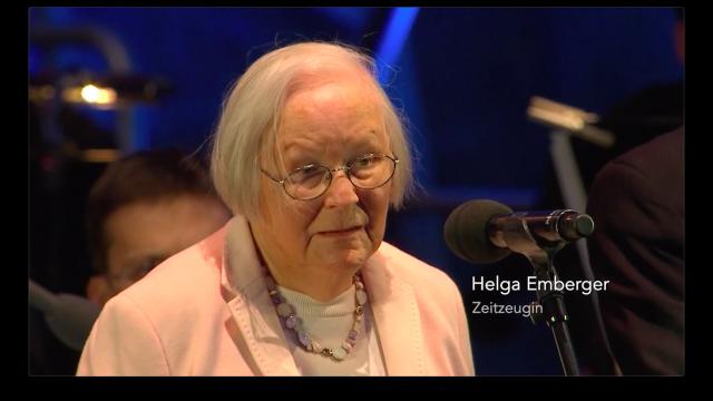 Helga Emberger, Zeitzeugin